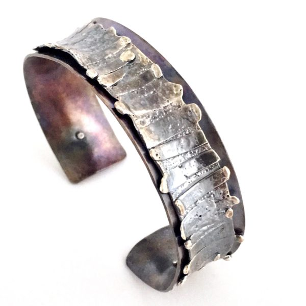 Mixed Metals Cuff Bracelet by Susan Wachler Jewelry