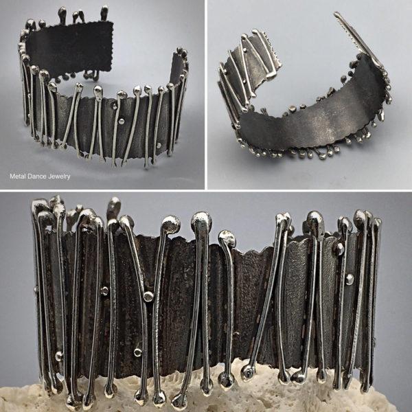 Organic Cuff Bracelet by Susan Wachler Jewelry