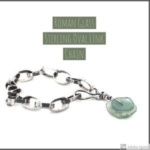 Roman Glass Bracelet by Susan Wachler Jewelry