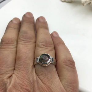 Watermelon Tourmaline Ring by Susan Wachler Jewelry