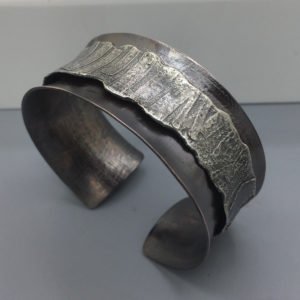 Mixed Metal Cuff by Susan Wachler Jewelry