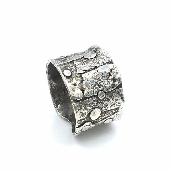 Fused Applique Ring by Susan Wachler Jewelry