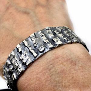 Heavy Gauge Bangle Bracelet by Susan Wachler Jewelry