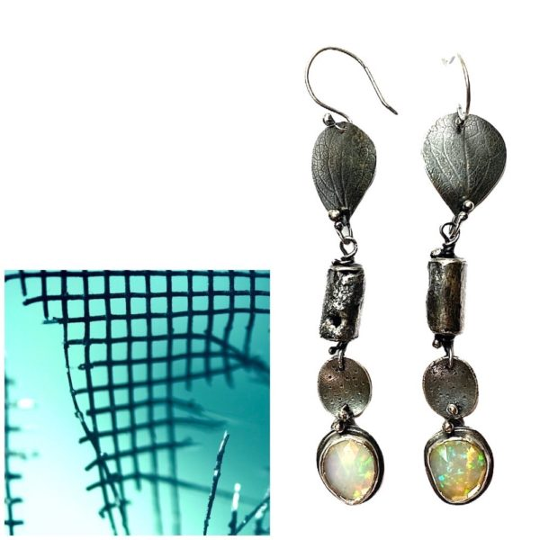 Precious Connections Opal Earrings by Susan Wachler Jewelry