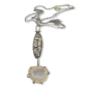 One of a Kind Connections Druzy Geode Necklace by Susan Wachler Jewelry