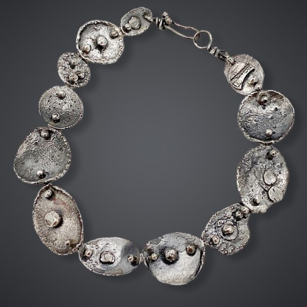 Individual Connections Sterling Silver Link Bracelet by Susan Wachler Jewelry