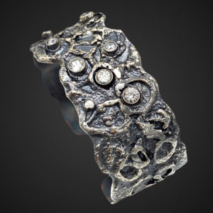 Mercurial Connections Topaz Silver Bracelet by Susan Wachler Jewelry