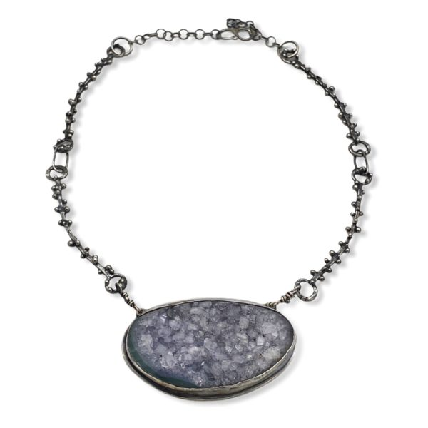 Amethyst Connections Amethyst necklace by Susan Wachler Jewelry