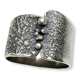 Granulated Ring by Susan Wachler Jewelry