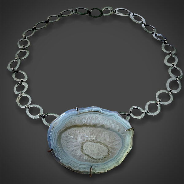 Flexible Connections Agate Convertible Necklace by Susan Wachler Jewelry