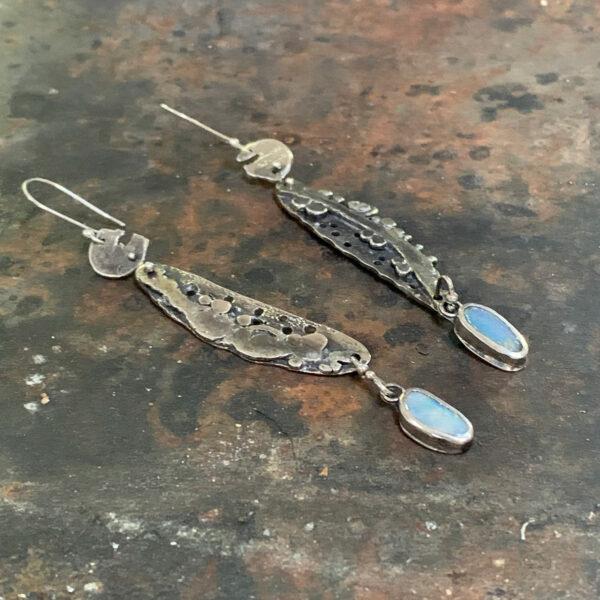 Opal Dreams Boulder Opal Earrings by Susan Wachler Jewelry