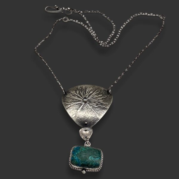 Botanical Connections Botanical Embossed Pendant by Susan Wachler Jewelry